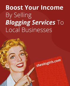 A great way to boost your blogging income is to look offline. We have five services you can offer to local businesses to start brining in that paycheck.