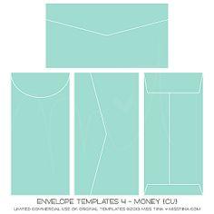Money Envelope Template Printables Fonts Money Envelopes