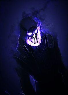 Berunov: U201c Fear Me U201d Warlock Dnd, Necromancer, Amazing Art, Purple Fire