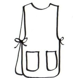 How to Make an Apron Tunic thumbnail. This is the perfect apron for me. Maybe a bit longer to assure coverage of the back, where I tend to wipe my hands.