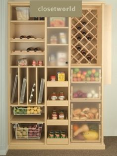 clever kitchen pantry ideas to improve your kitchen free standing kitchen pantry units with wooden - Kitchen Closet Ideas