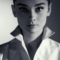 Audrey Hepburn by Jeff Cardiff, 1956