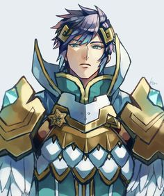 Fire Emblem. Who is this? I heard Fjorm had elder brothers...( ͡° ͜ʖ ͡°)  But if this is Alfonse the hot damn