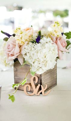 Laser Cut word table numbers - this boho wedding decor idea is a beautiful spin on tradition and will truly make a statement. Simple and chic!! Available in gold, silver, or natural wood or even in glitter! | http://www.ZCreateDesign.com