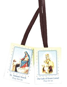 * Penny Deals * - Mt. Carmal Scapular with Ribbon ** Check this awesome product by going to the link at the image.