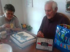 Dad's 86th birthday party.