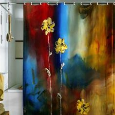 DENY Designs Home Accessories | Madart Inc. Soft Touch Shower Curtain