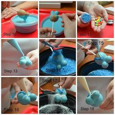 Pregnant Belly Cake Pop Picture How To