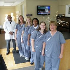dental staff group photos ideas   Dr. Courtney's Staff