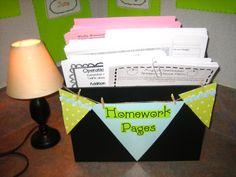 Homework station.....