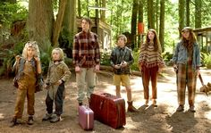 Shree Crooks stars as Zaja, Charlie Shotwell as Nai, George MacKay as Bo, Nicholas Hamilton as Rellian, Samantha Isler as Kielyr and Annalise Basso as Vespyr in Captain Fantastic.