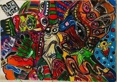 My Works, Spiderman, Superhero, Drawings, Fictional Characters, Art, Spider Man, Art Background, Kunst