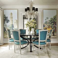 Fabulous Room Friday 06.06.14 | Dining Room by Kelie Grosso