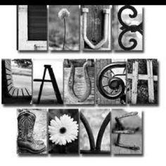 Live, laugh, & love.
