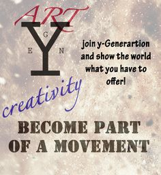 Become a part of Y-Generation and show the world how creative you can be! How To Become, Ads, Motivation, World, Creative, Blog, Determination, Peace, The World