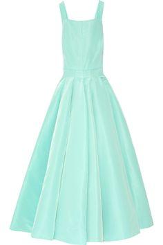 Oscar de la Renta silk-faille gown