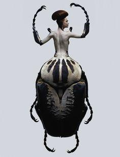 Les femmes insectes de Laurent Seroussi | YKW