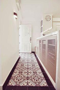 Peranakan tiles for entrance foyer