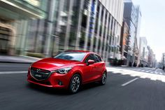 """All new Mazda Demio (known as Mazda2 in overseas) is the fourth of the new-generation models that fully adopt SKYACTIV TECHNOLOGY and KODO """"Soul of Motion"""" design theme, following Mazda CX-5, Mazda Atenza (Mazda6) and Mazda Axela (Mazda3). #Mazda #Demio"""