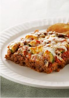 Easy Layered Italian Meatloaf – Our Easy Layered Italian Meatloaf has everything you love about lasagna except the noodles—and the hassle.
