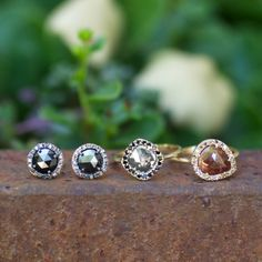 One of a kind raw diamond ring handcrafted at our Shaesby studio in Austin, TX.