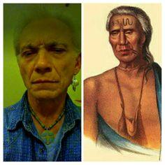 Showing my Lunaape ancestry~