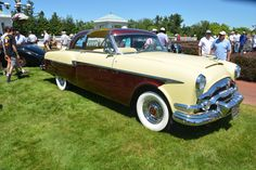1953 Packard Monte Carlo Coupe by Henney (Cream)