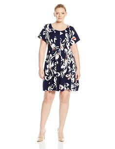 89c86ef3e8748 Robbie Bee Women s Plus Size Cap Sleeve Dress    For more information