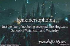 ♡Teens Dictionary♡ I personally don't like harry potter... but it's funny that this os actually a word
