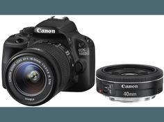 CANON EOS 100D + 18-55mm + 40mm (8576B047AA)