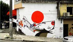 日本某街头艺术