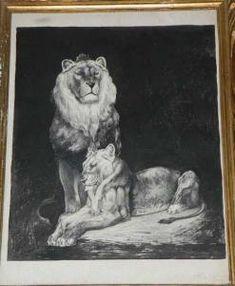 Edward Douglas Eade - Couple De Lions