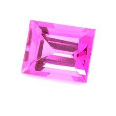 Saphir rose 1.44 carats
