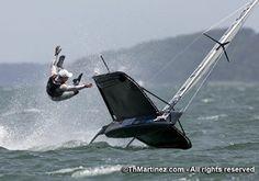 Moth Class sailing....oh no....!