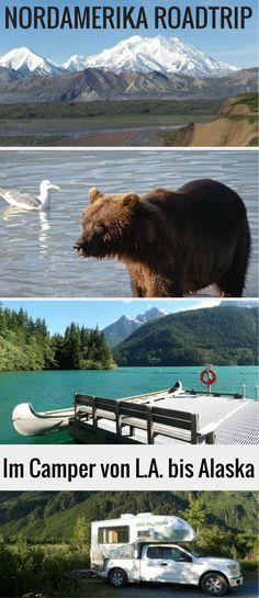 Rundreise im Truck Camper von Los Angeles nach Alaska und zurück: Begleite uns auf einem Abenteuer Roadtrip durch Nordamerika.Tipps & Infos & Routenbeschreibung!