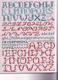 Gallery.ru / Foto # 32 - Encyclopedie des Alphabets - Orlanda