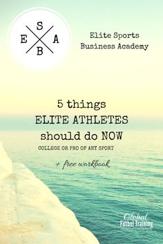 Like the idea of schedule freedom? Have you ever looked at starting a sports business {for ANY sport}? Like the idea of a franchise, but without the fees? Then the Elite Sports Business Academy {ESBA} is for you! Starting ANY business is a challenge - I understand! Learn the EXACT STEP-BY-STEP process I followed to create & grow Global Fútbol Training & start your own business! Registration begins soon for SPRING 2016! bit.ly/1NPk4Oi