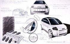 Bilder Studie - Audi A2 Museum