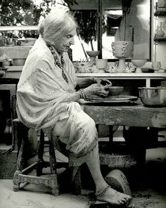 "Beatrice Wood, age 105, When asked the secret of her longevity, she would simply offer ""art books, chocolates and young men."""