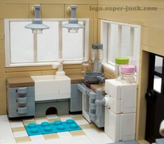 Lego simple kitchen