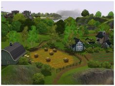 Aspen Islands are situated far from Sunset Valley shores, it is a group of four islands with moderate climate and abundance of aspen and birch trees. Sims 3 Worlds, Terrain Texture, Road Texture, Sunset Valley, Sims Ideas, Sims Mods, Laid Back Style, Electronic Art, Sims 2