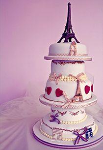 Parisian desserts to spoil your guests - parisian wedding cake