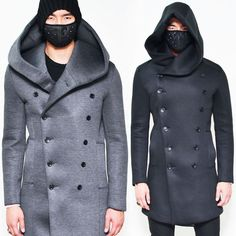 Double Neoprene Guylook Super Hood Moda Di Coat 63 MaschileAbiti Big XnOPNk8w0