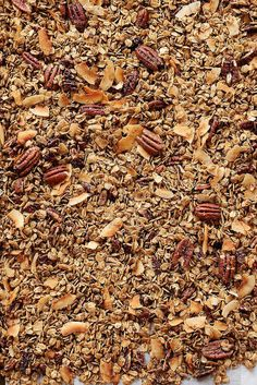 Oatmeal Cookie Granola / joy the baker