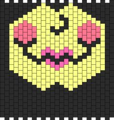 doll face mask bead pattern