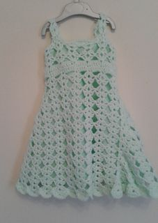 aafc254ad6c Free crochet pattern - Beautiful toddler dress for 1 - 2 year old ...