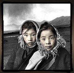 Phil Borges - Tibetan Portrait