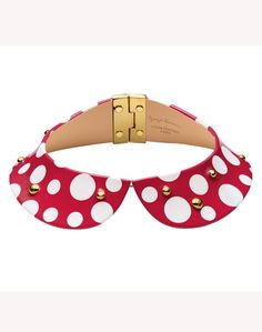 Louis Vuitton #polka #dots #collar