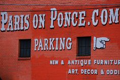 Paris on Ponce - Just taken over by new owners. It now has lots of booths and is pretty dang awesome! Georgia On My Mind, Going Home, Best Cities, Atlanta, Songs, Paris, How To Plan, Live