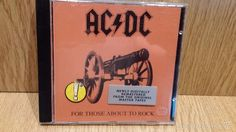 AC/DC. FOR THOSE ABOUT TO ROCK. CD / ATLANTIC - 1994. 10 TEMAS / CALIDAD LUJO.